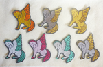 FOR SALE - Pegasus embroidery patches by goiku
