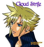 ++Cloud Strife++ by Bayou-Kun