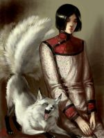 Count D and  Kitsune by Folda