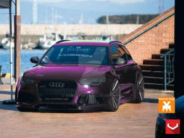 AUDI RS6 AVANT on VOSSEN by MOMOYAK by MOMOYAK