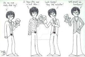 Beatles--Fun with handpuppets by beatlefan4ever