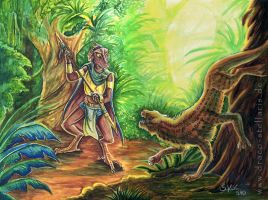 A Hunt In The Kunbal Jungle by Draco-Stellaris