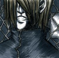 Scary Chainlink Dude by LaCidiana