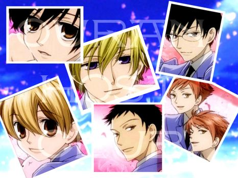 Ouran Host Club Wallpaper by jc088