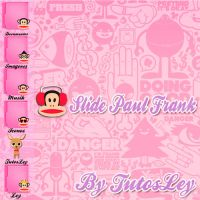 Skin Slide XWidget Paul Frank by leyfzalley