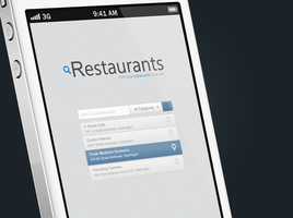 Local Restaurant Search [WIP] by Sasori-Designs