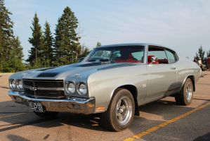 Silver '70 Chevelle by KyleAndTheClassics