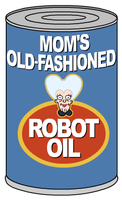Mom's Old Fashioned Robot Oil by javoec
