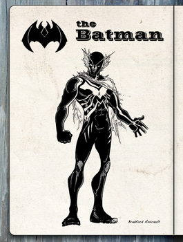 New Batman design by tryin2get-there