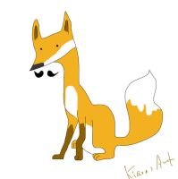 Foxstache 6 by KIARAsART