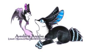 Aveelae and Aneelae Adoptable ~ on hold by BiahAdopts
