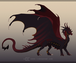 DemonLady_Commission by ulven-f