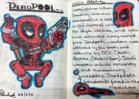 Deadpool by TheCoolMinecraft
