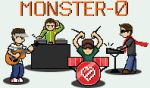Monster-0 8bit band by juvi008ok