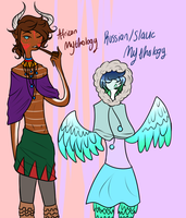 MORE GOSH DANG OCS by MythsandMonsters