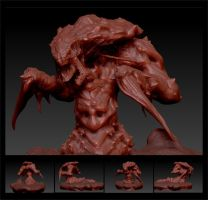 ZBrush Hydralisk by pixelOgre
