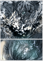 Comic preview WIP by Frost7