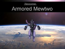 Newcomer - Armored Mewtwo by clampfan101