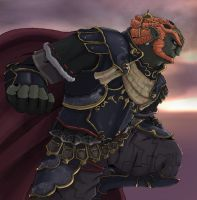 Dark King, Ganondorf. by sarrus