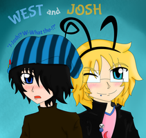 West and Josh (Commission/Artwork Request) by Mikage-YoshinoAnerin
