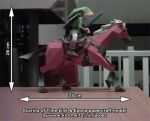 Link and Epona papercraft by ninjatoespapercraft