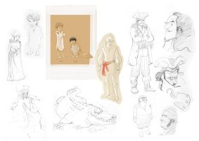 peter pan sketches by Jovan-Ukropina