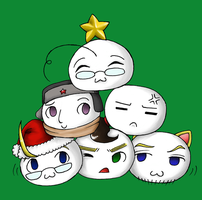 Mochi Christmas by telepaths