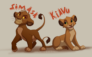 Simasa and Kiavu by tigon