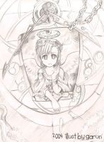 little Angel rough by garun