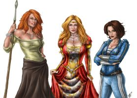 Rand Wives - Progress IV by ReddEra