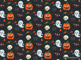 Halloween Pattern For Kids 2014 by KellerAC
