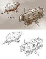 airship design by TerryLH