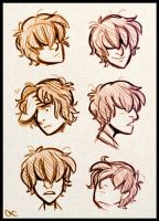 Tamir Head Sketches by Inonibird