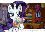 Rarity The Generous by JcosHooves