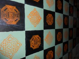 Celtic Chess Board by PardonMyParadox