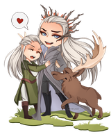 Fabulous family for Helesss by Melixion