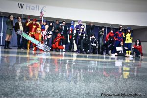 Mega Con - Marvel Shoot by Rebecca-Manuel