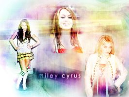 Miley Cyrus Wallpaper by SweetPU