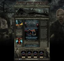MUTILATED RECORDS WEBDESIGN by isisdesignstudio