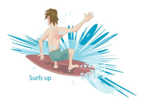 surfs up by myagi