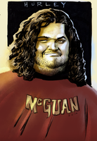 """Hurley """"LOST"""" by PlanetKojo"""