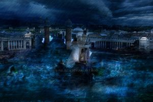 My first Matte Painting by Piojilla