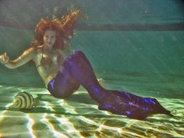 Ariana Mermaid Under Water. by FoxmoonMerfolk
