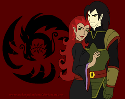 Xiaolin Showdown: Chase Young And Wuya by ArchangelNathaniel