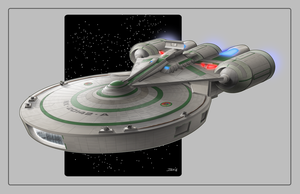 Updated USS Aria by Ihlecreations