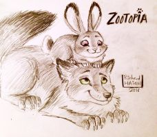 Zootopia Pals by richardAH