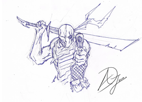 Deathstroke by Demon-Sword-Art
