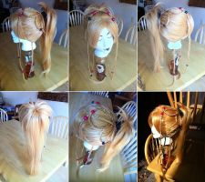 Rikku Wig 5 from Final Fantasy X-2 by taiyowigs