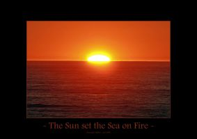 The Sun Set the Sea on Fire by UnUnPentium115