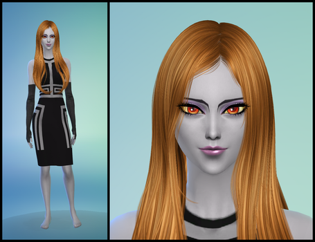 The Sims 4: LoZ Twilight Princess - Midna by Tx-Slade-xT
